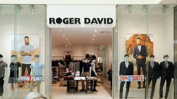 Menswear Chain Roger David Enters Administration